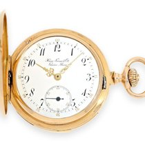 Haas Neveux & Cie Pocket watch: very rare, small golden...