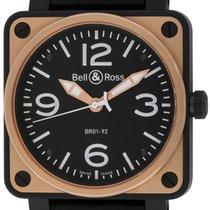 Bell & Ross : BR 01-92 :  BR01-92-BICOLOR :  Black carbon...