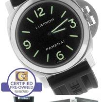 Panerai PAM 112 R Series 44mm Luminor Base Stainless Manual Watch