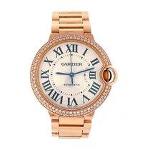 Cartier Ladies 18K Rose Gold Diamonds Cartier Ballon Bleu...