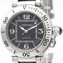 Cartier Pasha Seatimer Steel Automatic Mens Watch W31077m7...
