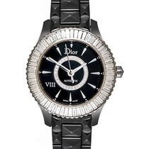 Dior VIII Black Ceramic, White Gold & Diamond Ladies Automatic...