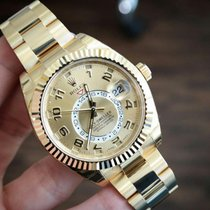 Rolex Sky-Dweller 18K Yellow Gold Watch