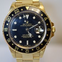 Rolex GMT Master II Yellow Gold Classic Vintage  MINT IN STOCK