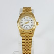 Rolex Oyster Perpetual 18k Gold. Box & Papers.