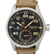 Alpina Startimer Pilot Manufacture Regulator Automatic Men's...
