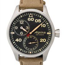 Alpina Startimer Pilot Manufacture Regulator Automatic Men's...
