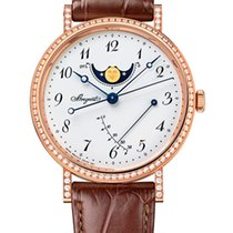 Breguet Brequet Classique 7788 18K Rose Gold & Diamonds...