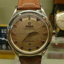 Omega vintage 1956 constellation chronometer auto gold cape...