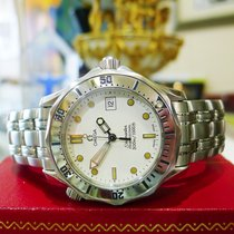Omega Seamaster Professional 300m Stainless Steel White Dial...
