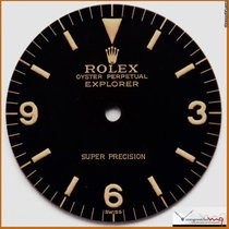 Rolex Dial Explorer I Ref 5500 Depth Gilt Dial Stock #17DG