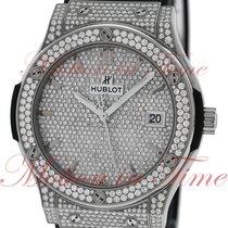 Hublot Classic Fusion 45mm, Diamond Dial, Diamond Bezel &...