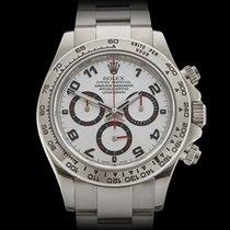 Rolex Daytona 18k White Gold Gents 116509