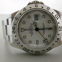 """Rolex Explorer II 16570 S/s 40mm Auto Sport Watch. """"y""""..."""