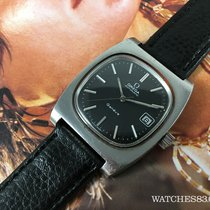Omega Genève swiss vintage watch automatic BLACK Cal 1012 Ref...