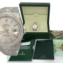 Rolex Oyster Perpetual Datejust Stainless Steel White Gold...