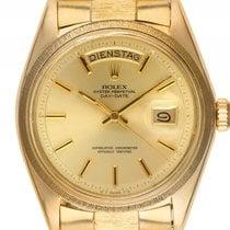 Rolex Day Date Borke 18kt Gelbgold Automatik Armband Präsident...