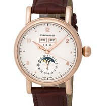 Chronoswiss Sirius 18K Rose Gold Triple Date Automatic Men's...