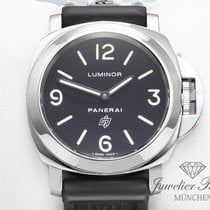 Panerai Luminor PAM 00000 Edelstahl Handaufzug Base Logo