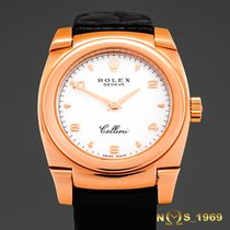 Rolex Cellini Cestello 18K Rose Gold Lady Box