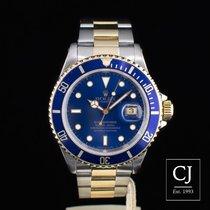 Rolex Submariner Date Steel & Gold Blue Kit