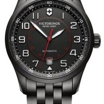 Victorinox Swiss Army AIRBOSS Mechanical Black Edition Steel...