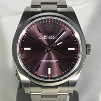 Rolex Oyster Perpetual 39mm Grape Dial 114300