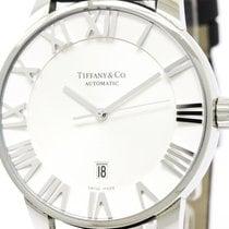 Tiffany Polished Tiffany Atlas Dome Automatic Mens Watch...