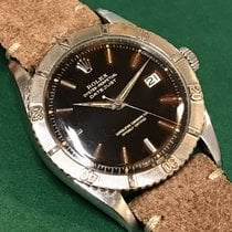 勞力士 (Rolex) 6609  Datejust Tropical Gilt Dial with Leather Strap