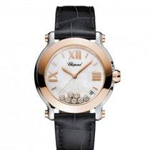 Σοπάρ (Chopard) Chopard 278492-9004 Happy Sport 36mm Gold...