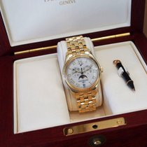 パテック・フィリップ (Patek Philippe) Annual Calendar Moonphase Yellow...