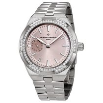 Vacheron Constantin Overseas Small Pink Dial Ladies Automatic...