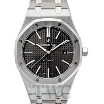 오드마피게 (Audemars Piguet) Royal Oak Selfwinding Black/Steel 41mm...