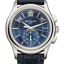Patek Philippe Annual Calendar Chronograph Platinum  5905P-001