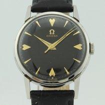 Omega Vintage Black Dial Automatic Steel