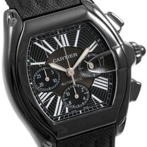 까르띠에 (Cartier) PVD/DLC Roadster XL Chronograph 48mm  Textile...