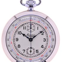 Minerva Mans Pocket Watch Chronograph