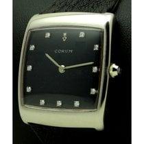 Corum | Buckingham, 18 Kt White Gold, Diamonds Dial