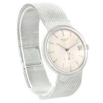 Patek Philippe Calatrava Vintage 18k White Gold Watch 3445