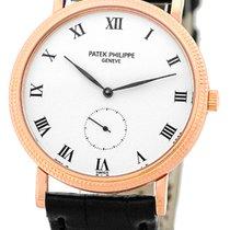 "Patek Philippe Gent's 18K Rose Gold  ""Calatrava..."