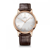 Zenith Elite Automatic Gold Silver Dial Mens Watch 18.2270.615...