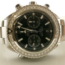 Omega Speedmaster Planet Ocean 600m Omega Co-axial Diamond...