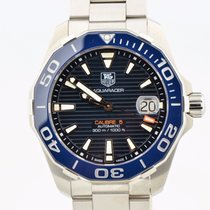 TAG Heuer Aquaracer Calibre 5 Automatic Blue Ceramic Bezel...