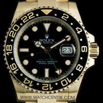 Rolex 18k Y/G Unworn O/P Black Dial GMT-Master II B&P...