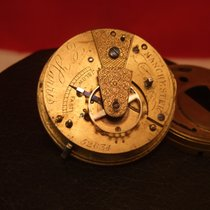 Pocket watch movement E. Harris Manchester Mechanical  Key...