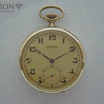 Ulysse Nardin antique pocket watch 14 K gold