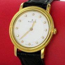 Blancpain Villeret Damen Uhr Ultra Slim Diamanten 750er Gold Box
