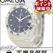 オメガ (Omega) 【オメガ】コンステレーション メンズ クォーツ 腕時計 デイト ステンレス シルバー ネイビー文字盤...