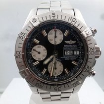 Breitling modern chronograph day/date super ocean certified...