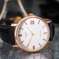 Longines Automatic Date 18k Rose Gold Vintage